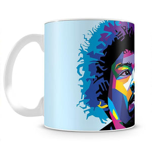 Jimi Hendrix Pop Art Mug - Canvas Art Rocks - 2