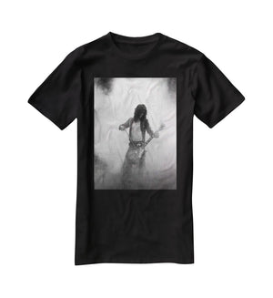 Jimmy Page on stage T-Shirt - Canvas Art Rocks - 1