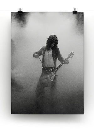 Jimmy Page on stage Canvas Print or Poster - Canvas Art Rocks - 2