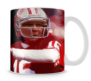 Joe Montana San Francisco Mug - Canvas Art Rocks - 1