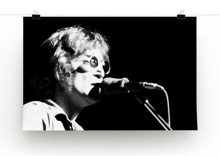 John Lennon Imagine Print - Canvas Art Rocks - 2