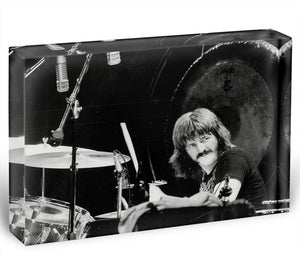 John Bonham Led Zeppelin Acrylic Block - Canvas Art Rocks - 1