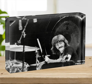 John Bonham Led Zeppelin Acrylic Block - Canvas Art Rocks - 2