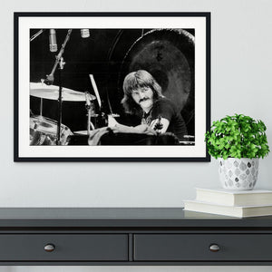 John Bonham Led Zeppelin Framed Print - Canvas Art Rocks - 1