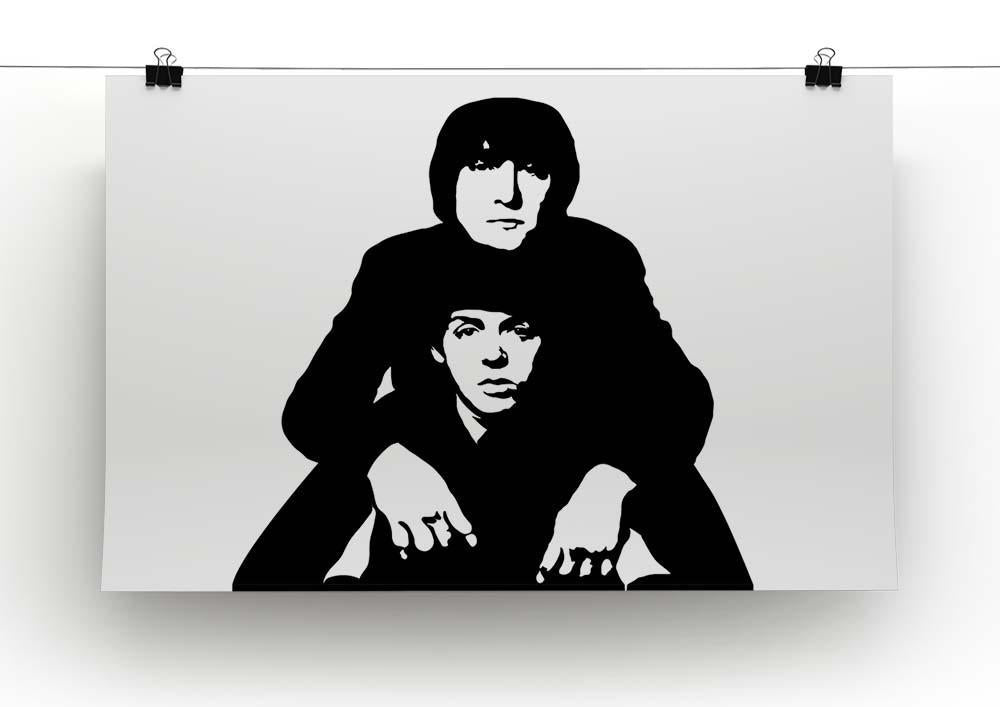 Paul McCartney Framed Canvas Print Wall Art Picture Ready To Hang
