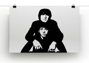 John Lennon Paul McCartney Canvas Print or Poster - Canvas Art Rocks - 2