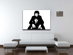 John Lennon Paul McCartney Canvas Print or Poster - Canvas Art Rocks - 4