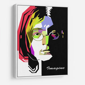John Lennon Pop Art HD Metal Print