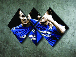 John Terry and Frank Lampard 4 Square Multi Panel Canvas - Canvas Art Rocks - 2