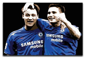 John Terry and Frank Lampard Canvas Print or Poster  - Canvas Art Rocks - 1