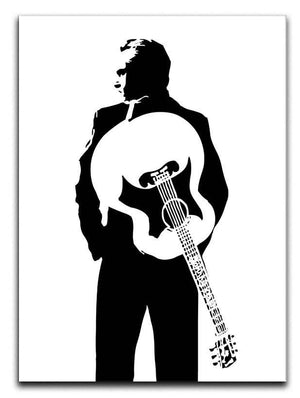 Johnny Cash Guitar Canvas Print or Poster  - Canvas Art Rocks - 1