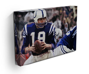 Johnny Unitas Baltimore Colts Canvas Prints - Canvas Art Rocks - 3