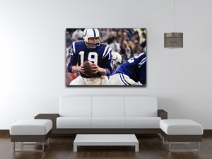 Johnny Unitas Baltimore Colts Canvas Prints - Canvas Art Rocks - 4