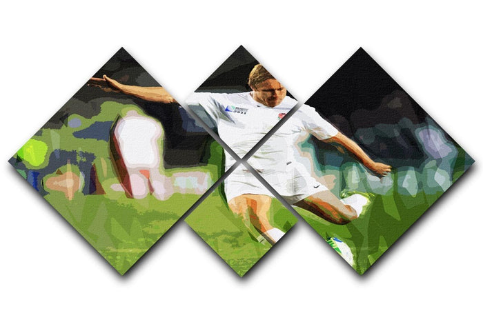 Jonny Wilkinson 4 Square Multi Panel Canvas