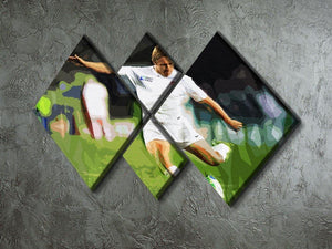 Jonny Wilkinson 4 Square Multi Panel Canvas - Canvas Art Rocks - 2