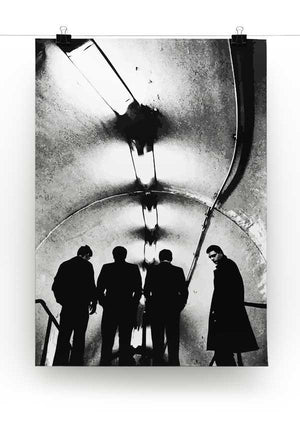 Joy Division Subway Print - Canvas Art Rocks - 2