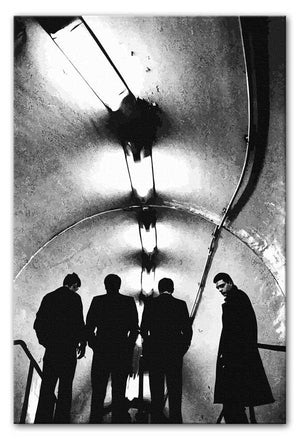 Joy Division Subway Print - Canvas Art Rocks - 1
