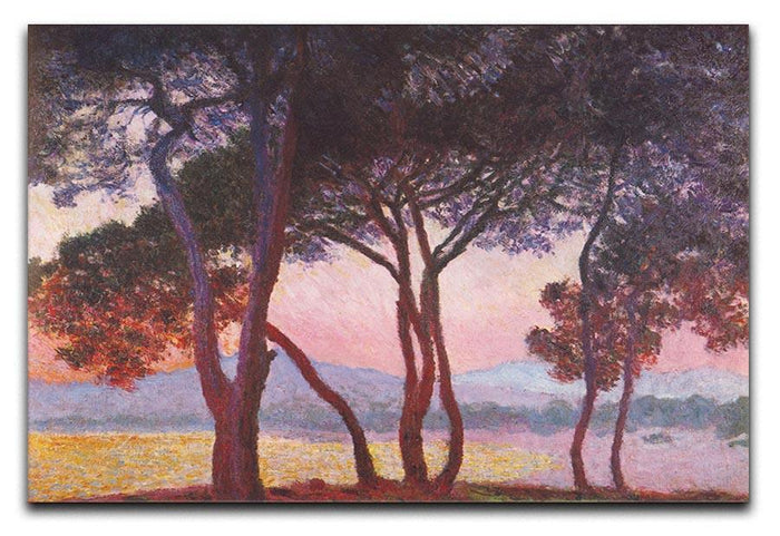 Juan les Pins by Monet Canvas Print or Poster