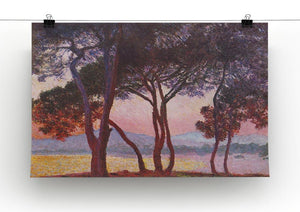 Juan les Pins by Monet Canvas Print & Poster - Canvas Art Rocks - 2