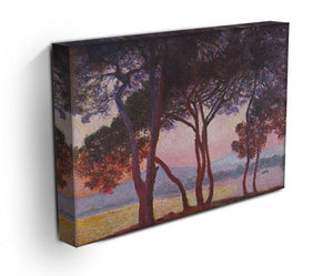 Juan les Pins by Monet Canvas Print & Poster - Canvas Art Rocks - 3
