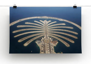 Jumeirah Palm Island Development Canvas Print or Poster - Canvas Art Rocks - 2