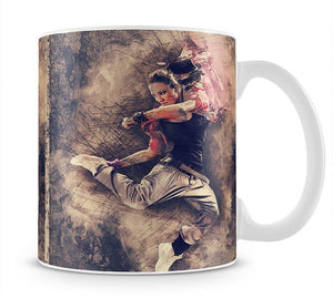 Jump Painting Mug - Canvas Art Rocks - 1
