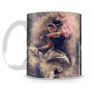 Jump Painting Mug - Canvas Art Rocks - 2