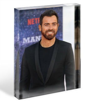 Justin Theroux Acrylic Block - Canvas Art Rocks - 1