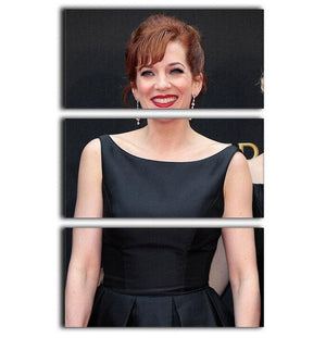 Katherine Parkinson 3 Split Panel Canvas Print - Canvas Art Rocks - 1