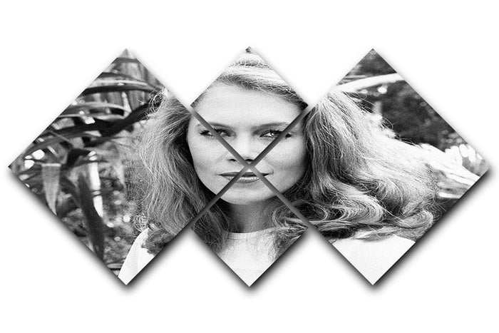 Kathleen Turner 4 Square Multi Panel Canvas