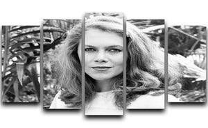 Kathleen Turner 5 Split Panel Canvas  - Canvas Art Rocks - 1