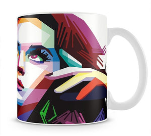 Katy Perry Pop Art Mug - Canvas Art Rocks - 1