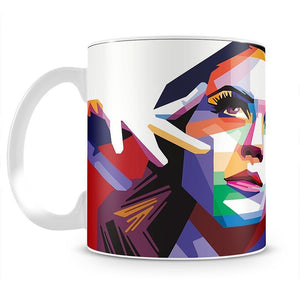Katy Perry Pop Art Mug - Canvas Art Rocks - 2