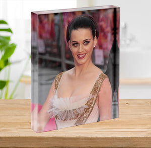 Katy Perry at awards Acrylic Block - Canvas Art Rocks - 2