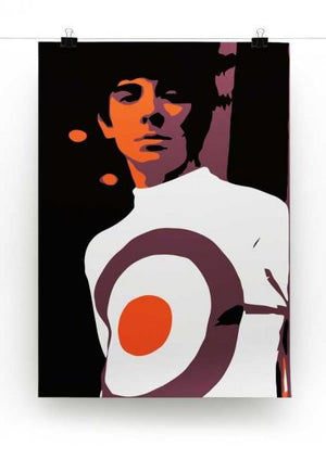 Keith Moon Print - Canvas Art Rocks - 2