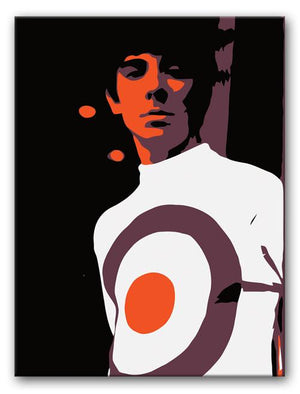 Keith Moon Print - Canvas Art Rocks - 1