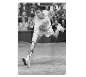 Ken Rosewall in action at Wimbledon HD Metal Print