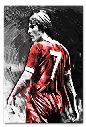 Kenny Dalglish Print - Canvas Art Rocks - 1