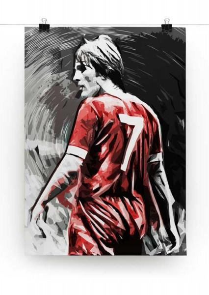 Kenny Dalglish Print - Canvas Art Rocks - 2