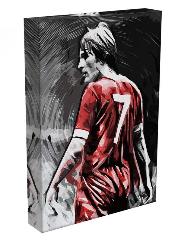 Kenny Dalglish Canvas Print or Poster