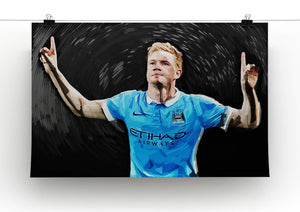 Kevin De Bryne Man City Print - Canvas Art Rocks - 2