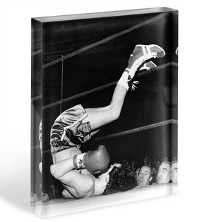 Knock Out Acrylic Block - Canvas Art Rocks - 1