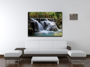 Kuang Si-Falls Print - Canvas Art Rocks - 4