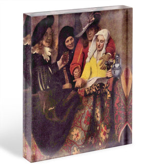 Kupplerin by Vermeer Acrylic Block - Canvas Art Rocks - 1