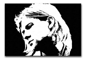 Kurt Cobain Print - Canvas Art Rocks - 1