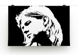 Kurt Cobain Print - Canvas Art Rocks - 2