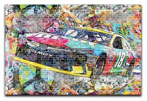Kyle Busch Nascar Camry Canvas Print or Poster - Canvas Art Rocks