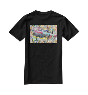 Kyle Busch Nascar Camry T-Shirt - Canvas Art Rocks - 1