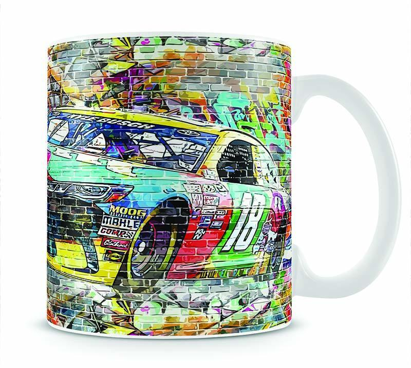 Kyle Busch Nascar Camry Cup - Canvas Art Rocks - 1