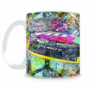 Kyle Busch Nascar Camry Mug - Canvas Art Rocks - 2